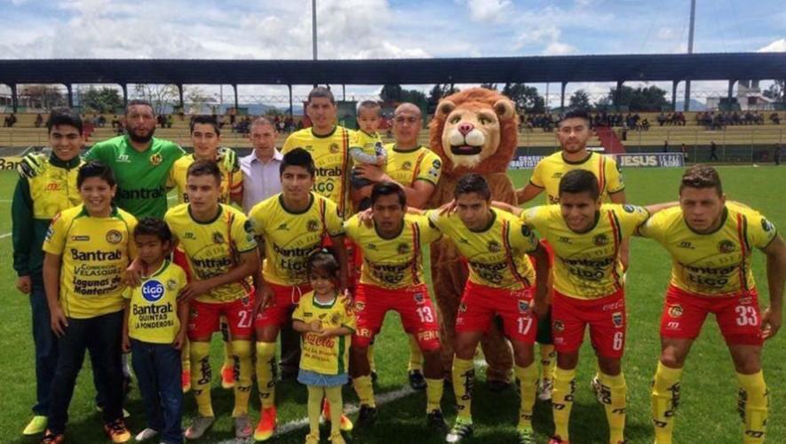 Partido de Marquense vs Suchitepéquez, por el Torneo Apertura   Septiembre 2016