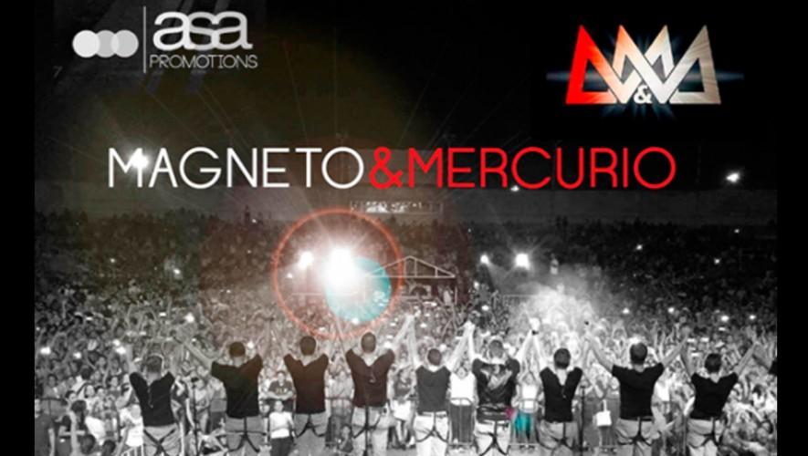Concierto de Magneto y Mercurio en Guatemala | Noviembre 2016