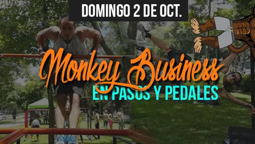 Monkey Busines Calisthenics Gym en Pasos y Pedales   Octubre 2016