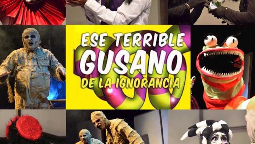 """Obra de teatro """"Ese terrible gusano de la ignorancia"""" En Centro Cultural Miguel Ángel Asturias  Septiembre 2016"""