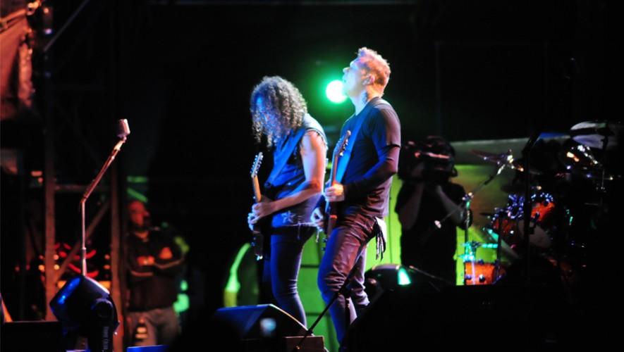 Por segunda vez, Metallica ofrecerá un concierto en Guatemala. (Foto: Metallica)