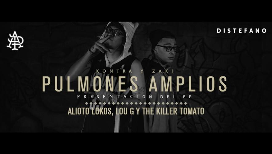 Presentación Primer Mixtape oficial de Pulmones Amplios en Reily's | Octubre 2016