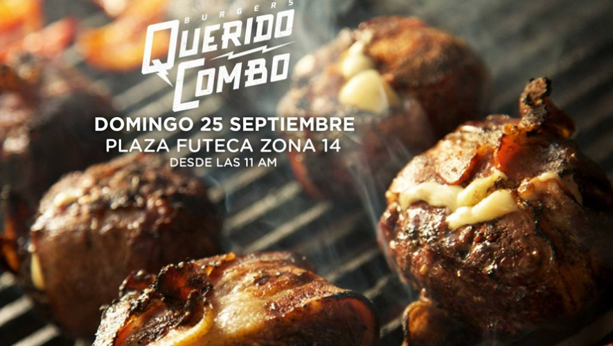 Hamburguesas Querido Combo en Plaza Futeca Zona 14   Septiembre 2016