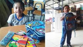 """Lo que tus hijos o tu ya no utilizas puede ser de gran utilidad para niños de escasos recursos en Purulhá. Foto: Biblioteca """"Lic. Bernardo Lemus Mendoza"""")"""