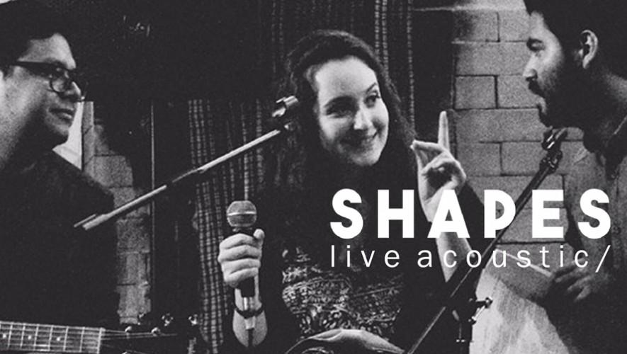 Concierto acústico banda Shapes en Matute Bar| Septiembre 2016