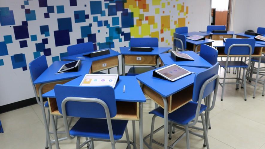 Aulas inteligentes de Samsung. (Foto: Guatemala.com)