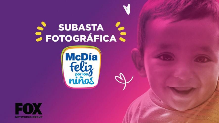 Subasta Fotográfica a beneficio del MacDía Feliz   29 de septiembre 2016