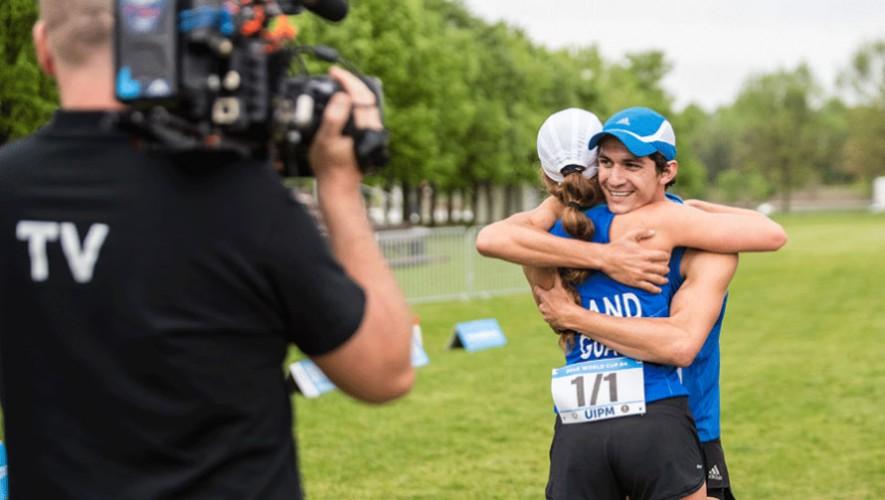 Isabel y Charles son las grandes apuestas para Guatemala en este Mundial Juvenil.  (Foto: UIPM)