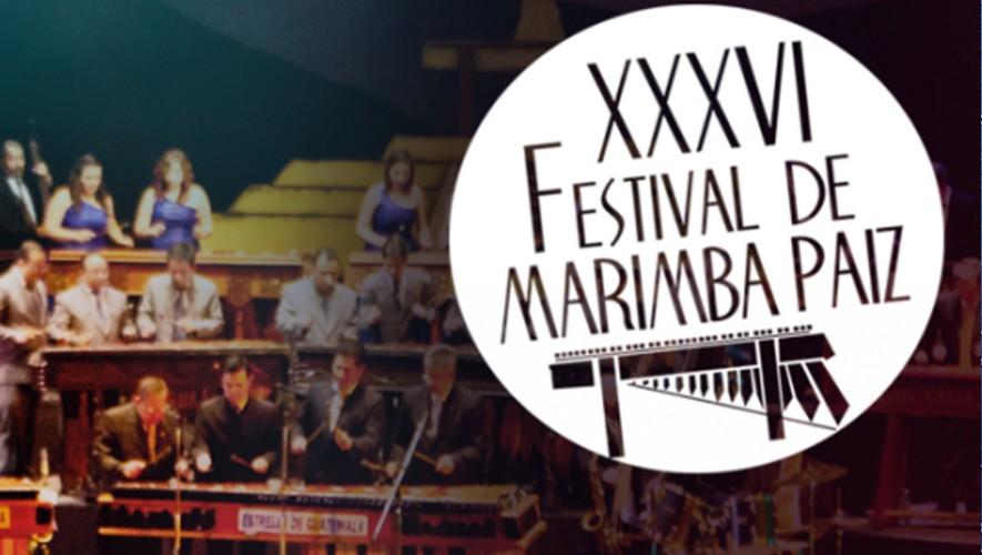 XXXVI Festival de Marimba Paiz en el Centro Cultural Miguel Angel Asturias | Septiembre 2016