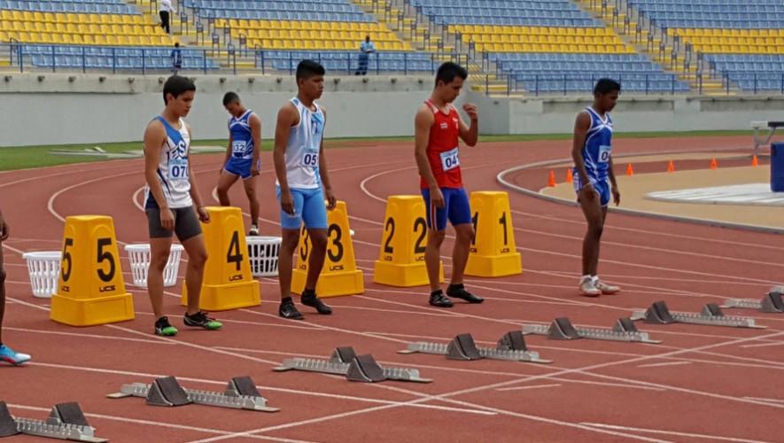 En atletismo se obtuvieron 5 medallas, de las cuales 2 fueron de oro. (Foto: Digefgt)