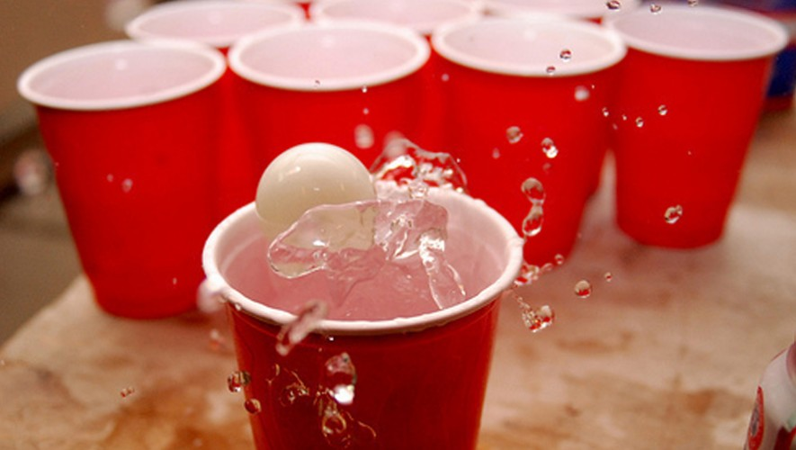 Final Torneo de Beer Pong universitario en Top Tee Cayalá| Octubre 2016
