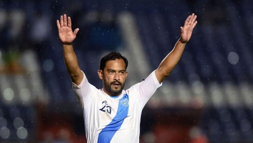 Carlos Ruiz disputó este martes 6 de septiembre del 2016 su último partido con la selección de Guatemala. (Foto: Johan Ordoñez)