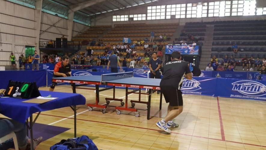 7 atletas representaron a Guatmeala en el certamen que se realizó en Nicaragua.(Foto: Federación Nacional de Tenis de Mesa Guatemala)