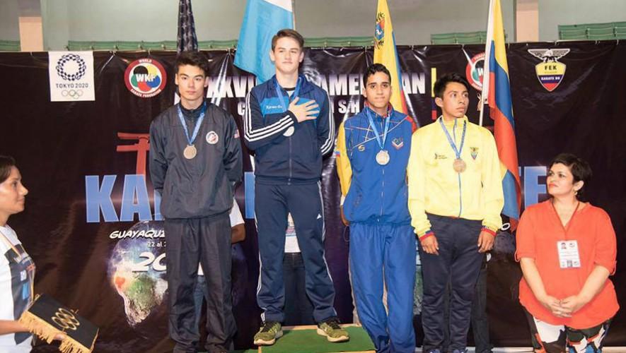 Christian viene de conseguir el bicampeonato panamericano en karate. (Foto: Facebook de Christian Wever)