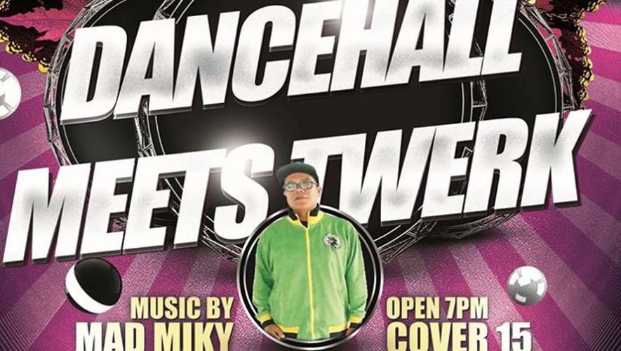 Dancehall Meets Twerk en Monkeys Bar | Septiembre 2016