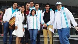 5 hombres y 5 mujeres se encuentran en Bakú representando a Guatemala. (Foto: Fenag Guatemala)