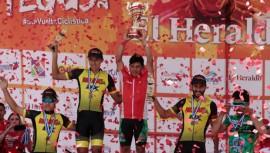 Esdras es el primer extranjero en ganar la Vuelta Ciclística en Honduras. (Foto: Juan Salgado)