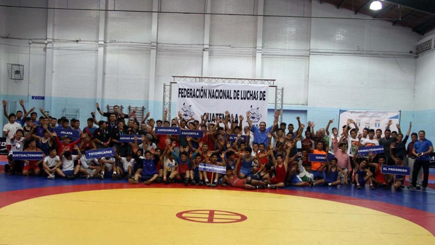 Más de 200 atletas se hicieron presentes en la competencia en la disputa de las medallas.  (Foto: CDAG)