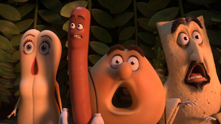 """Estreno película animada para adultos """"La fiesta de las salchicas""""   Octubre 2016"""