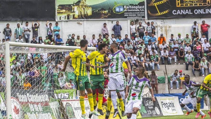Partido de Guastatoya vs Antigua, por el Torneo Apertura | Septiembre 2016