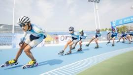 Guatemala se midió ante los mejores exponentes del patinaje sobre ruedas en el mundo. (Foto: Nanjing City photography team)
