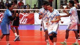 Guatemala inició con el pie derecho el primer torneo clasificatorio al Mundial de Voleibol. (Foto: AFECAVOL)