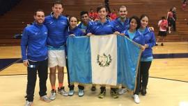 Guatemala hizo historia al conseguir sus primeras medallas en un Panamericano de Squash. (Foto: Asociación Nacional de Squash)