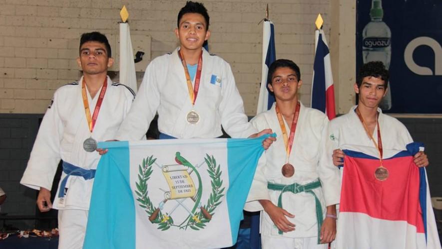 4 de las 6 medallas de oro fueron ganadas en Judo. (Foto: Digefgt)