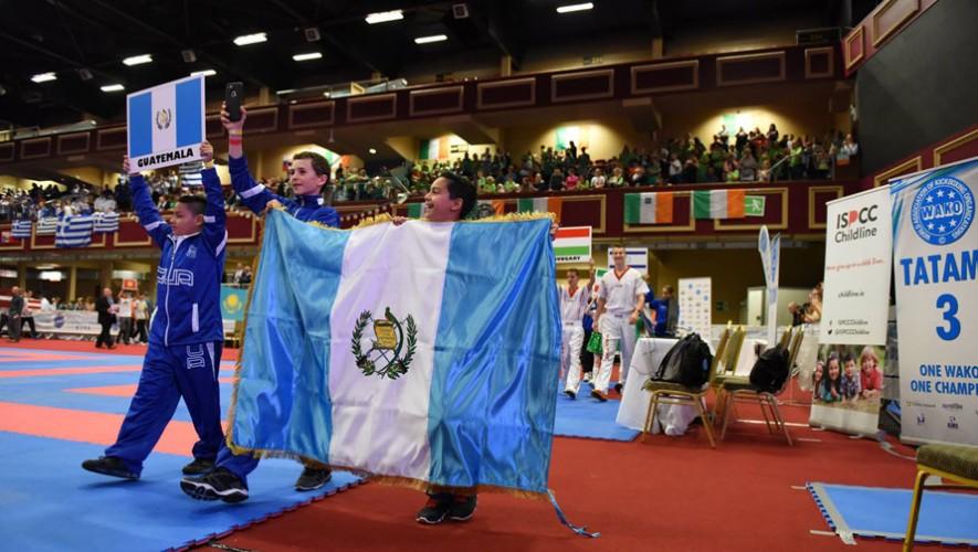 Guatemala se hizo presente con 9 atletas, de los cuales 3 ganaron bronce. (Foto: Wako)