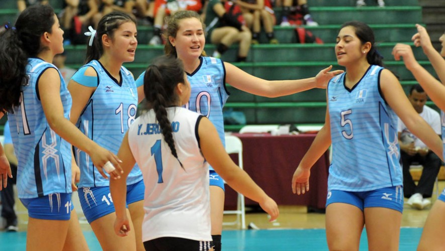 Las jugadoras guatemaltecas no lograron vencer a Costa Rica. (Foto: Afecavol)