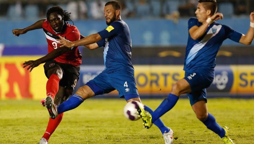 Guatemala vs Trinidad y Tobago, alineaciones
