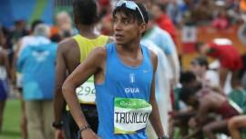 Trujillo se quedó con el primer lugar de la distancia de 21 kilómetros en Tamarindo. (Foto: COG)