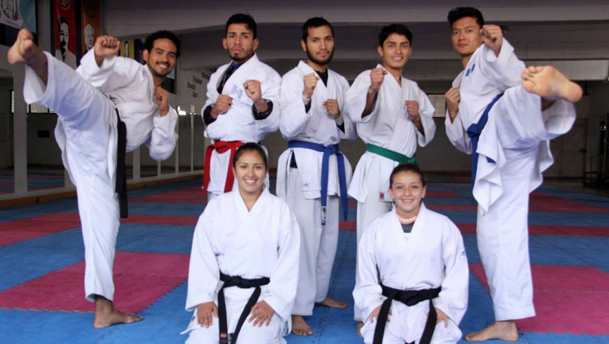 Portugal será el destino para 7 karatecas guatemaltecos.(Foto: Comité Olímpico Guatemalteco)