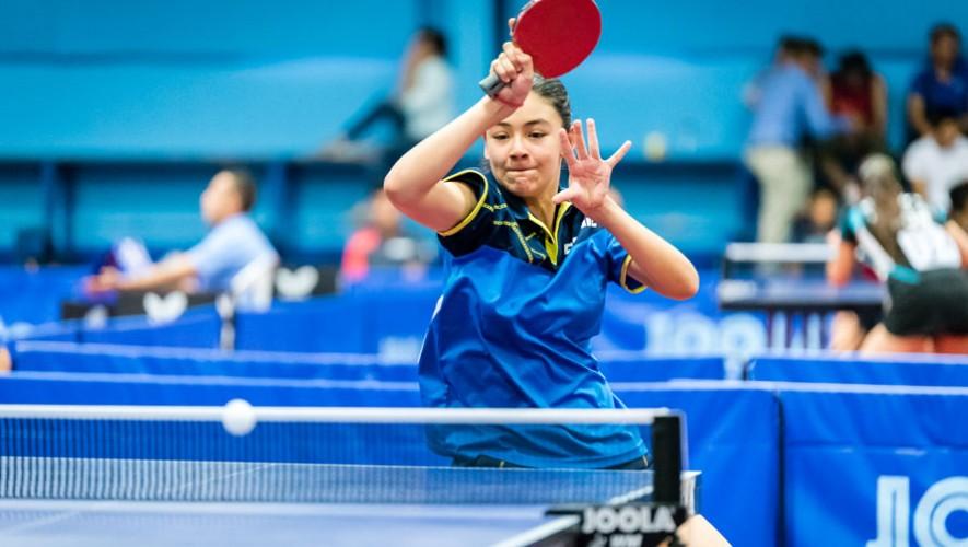 La guatemalteca consiguió su primer logro en la gira que realiza por Europa. (Foto: ITTF World)