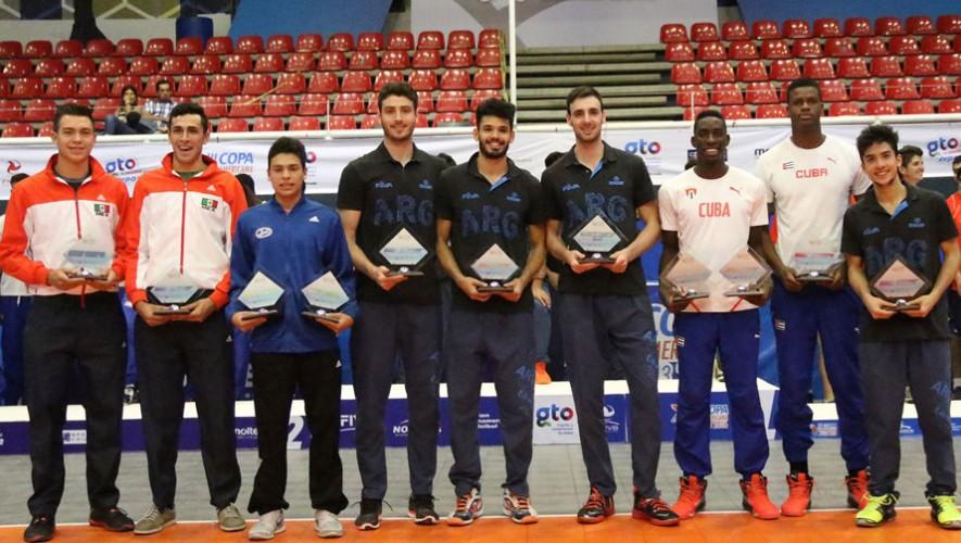 Luis fue el único centroamericano premiado entre los mejores jugadores del torneo. (Foto: AFECAVOL)