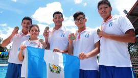 Natación fue el deporte donde más se ganaron medallas, siendo un total de 32 medallas. (Foto: DIGEF)