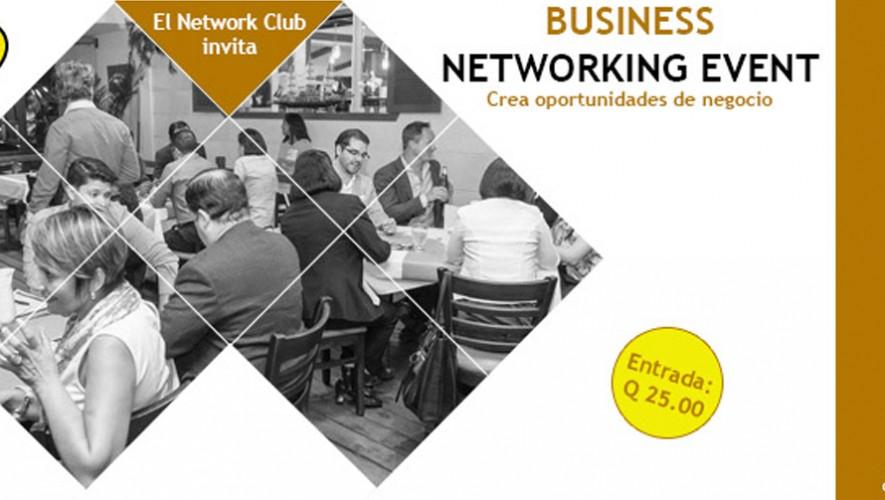 Evento de Business Networking en La Pérgola de Martita | Septiembre 2016