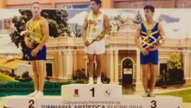 Jorge Vega celebró un triunfo en su regreso a las competencias oficiales. (Foto: Gimnasia Latina)
