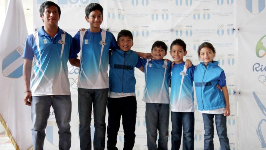 Seis atletas originarios de Huehuetenango representarán a Guatemala en la Maratón de Patinaje. (Foto: COG)