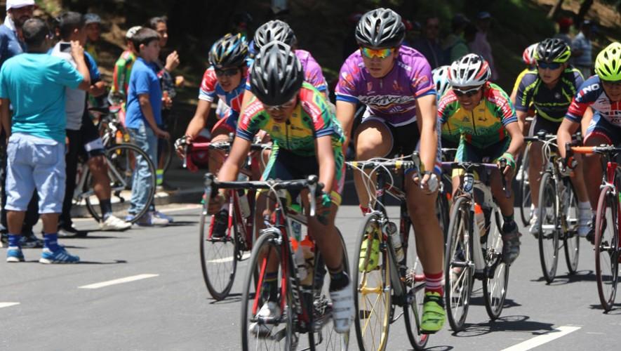 La prueba de contrarreloj fue la primera en llevarse a cabo en estos Juegos Nacionales de Ciclismo. (Foto: Federación Guatemalteca de Ciclismo)