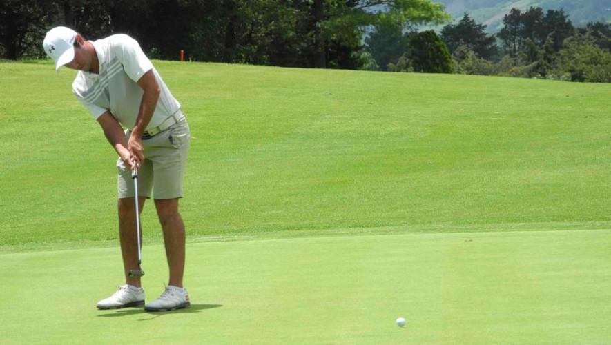 Sebastián Barnoya estará participando con el equipo masculino en el Eisenhower Trophy. (Foto: Cortesía de Asogolf Guatemala)