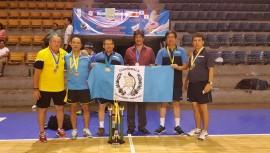 El equipo de Guatemala arrasó con el medallero del Centroamericano máster de tenis de mesa. (Foto: Federación Nacional de Tenis de Mesa Guatemala)