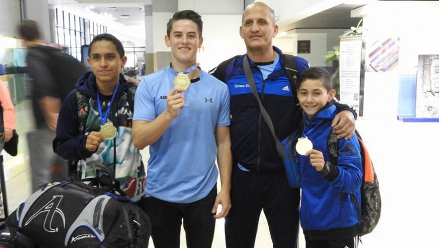 Guatemala con tres oros en Panamericanos de Karate