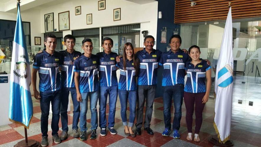 9 triatletas estarán representando al país en una de las competencias más masivas de triatlón. (Foto: Federación Nacional de Triatlón Guatemala)