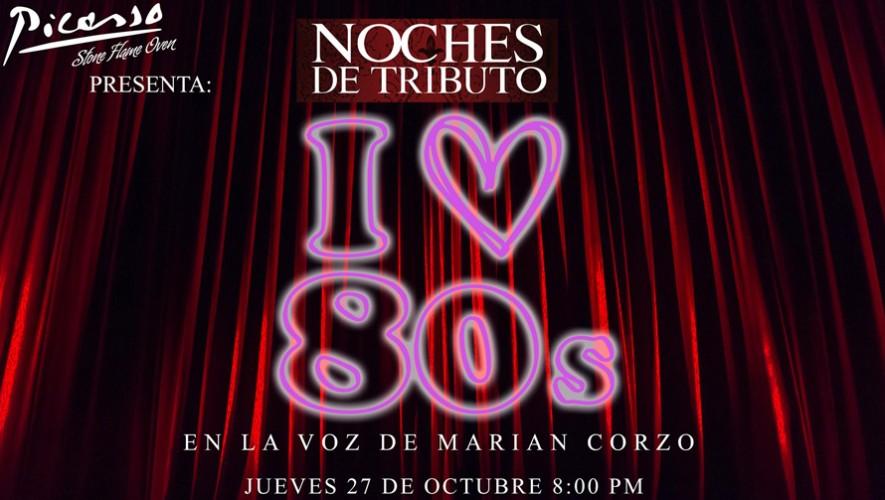 Noche de tributo a los 80 en restaurante Picasso | Octubre 2016