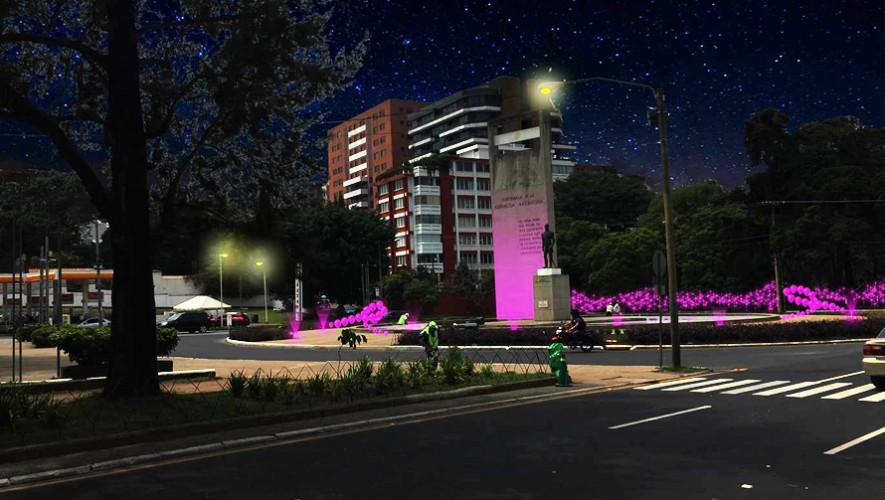 La Plaza Argentina se iluminará para unirse en la lucha contra el cáncer de mama. (Foto: AGI)