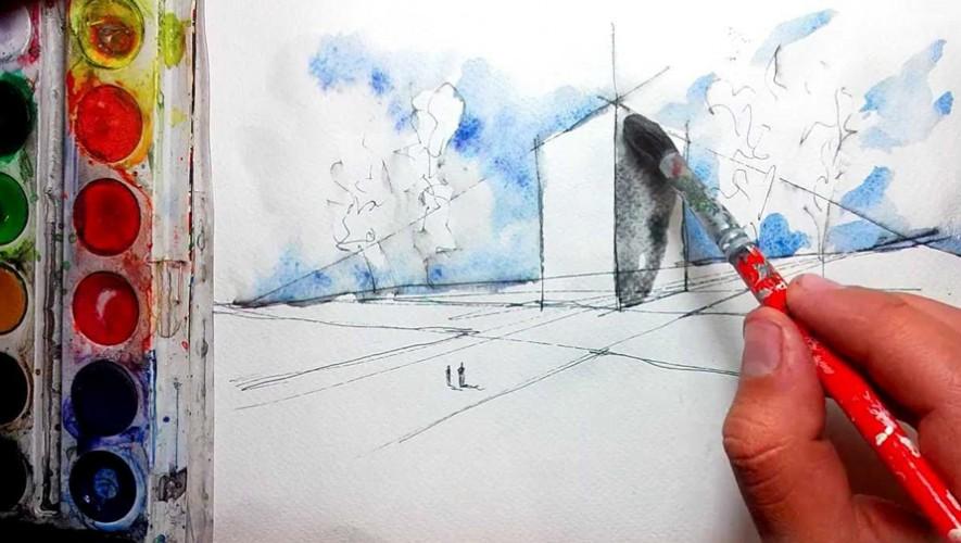 Taller de pintura con acuarela en Platino | Noviembre 2016