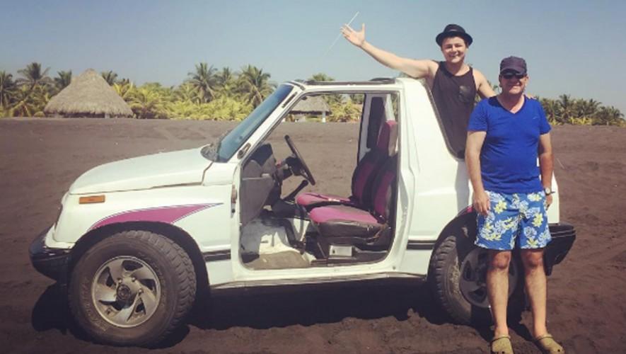 El actor disfrutando de unas vacaciones en Guatemala. (Foto: Arturo Castro)
