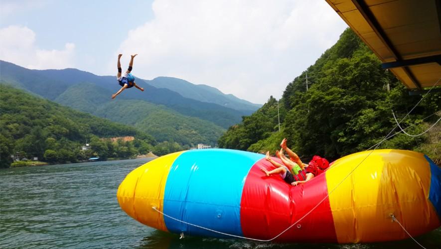 ¡Prepárate para hacer Blob Jump en Monterrico!  Octubre 2016