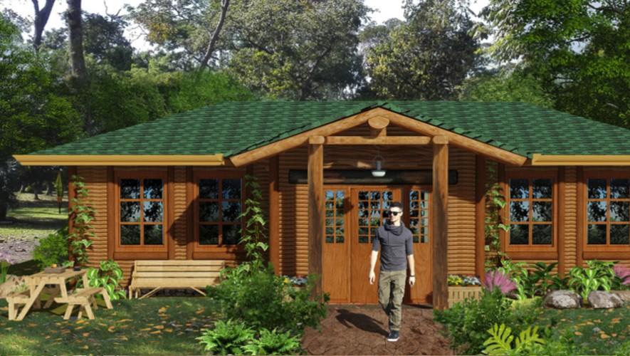 Así se verán las cabañas del nuevo parque del Irtra: Xejuyup. (Foto: Irtra)